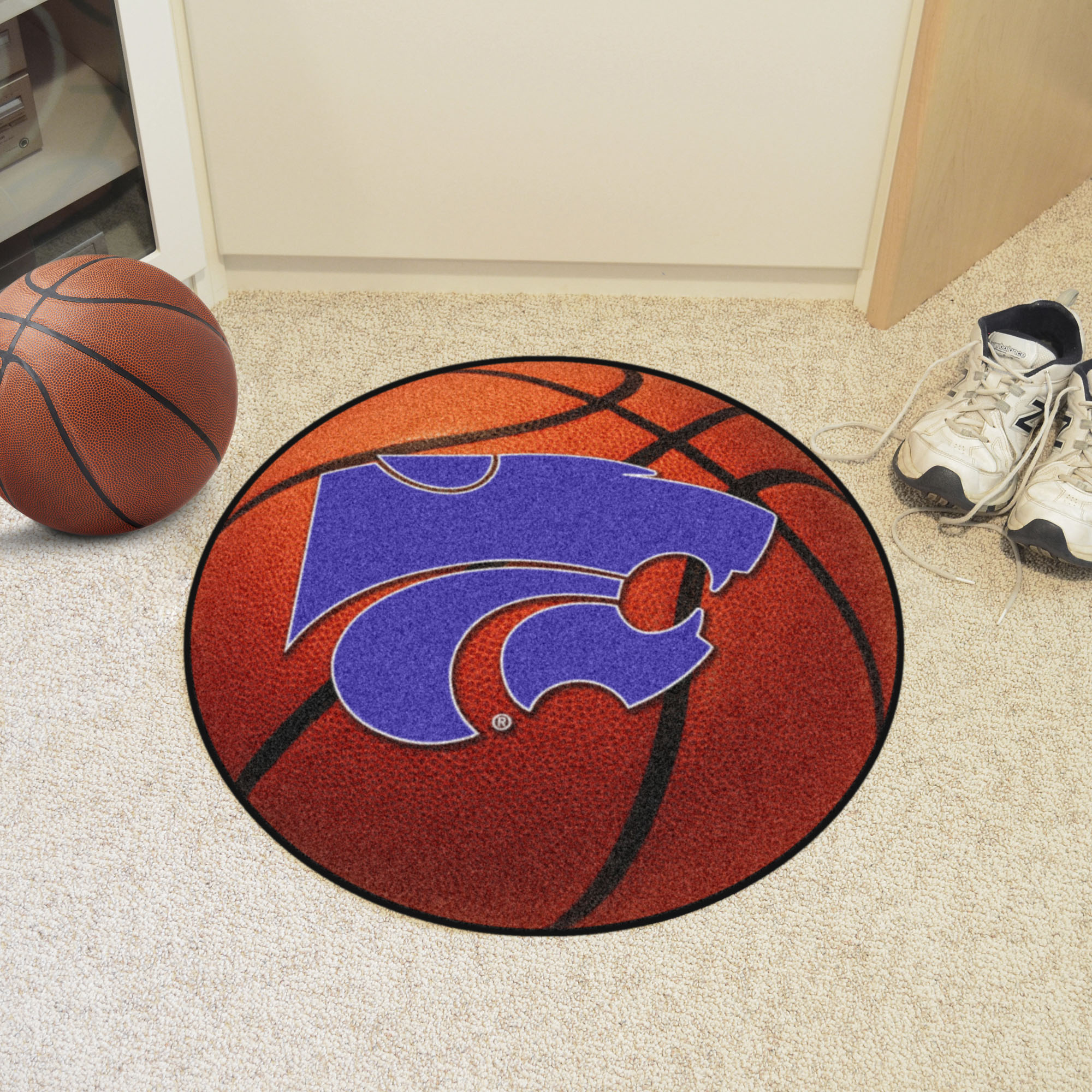 Fanmats College Ncaa 27in Diameter Nylon Chromojet Printed